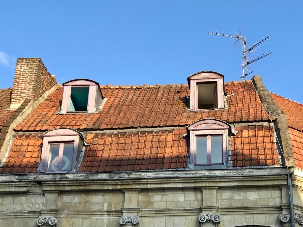 Doubles lucarnes Douai - brisis et terrasson