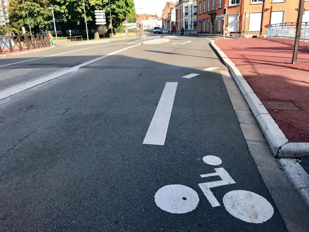 l'impasse au bout de la piste cyclable - mobilité douce