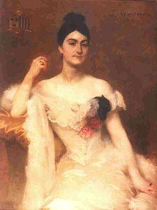 Portrait Madame Camescasse -Musée de la Chartreuse
