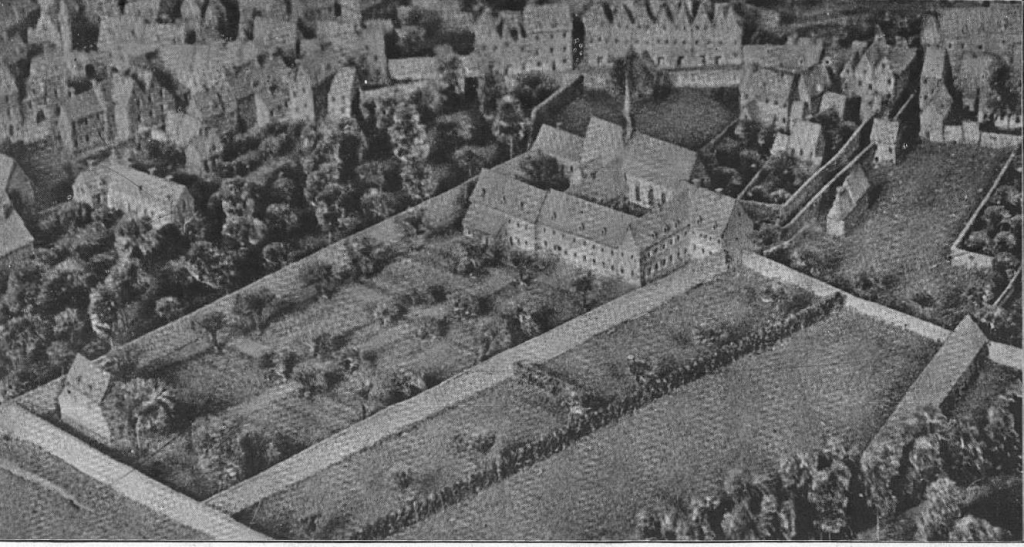Le couvent des Capucins en 1709