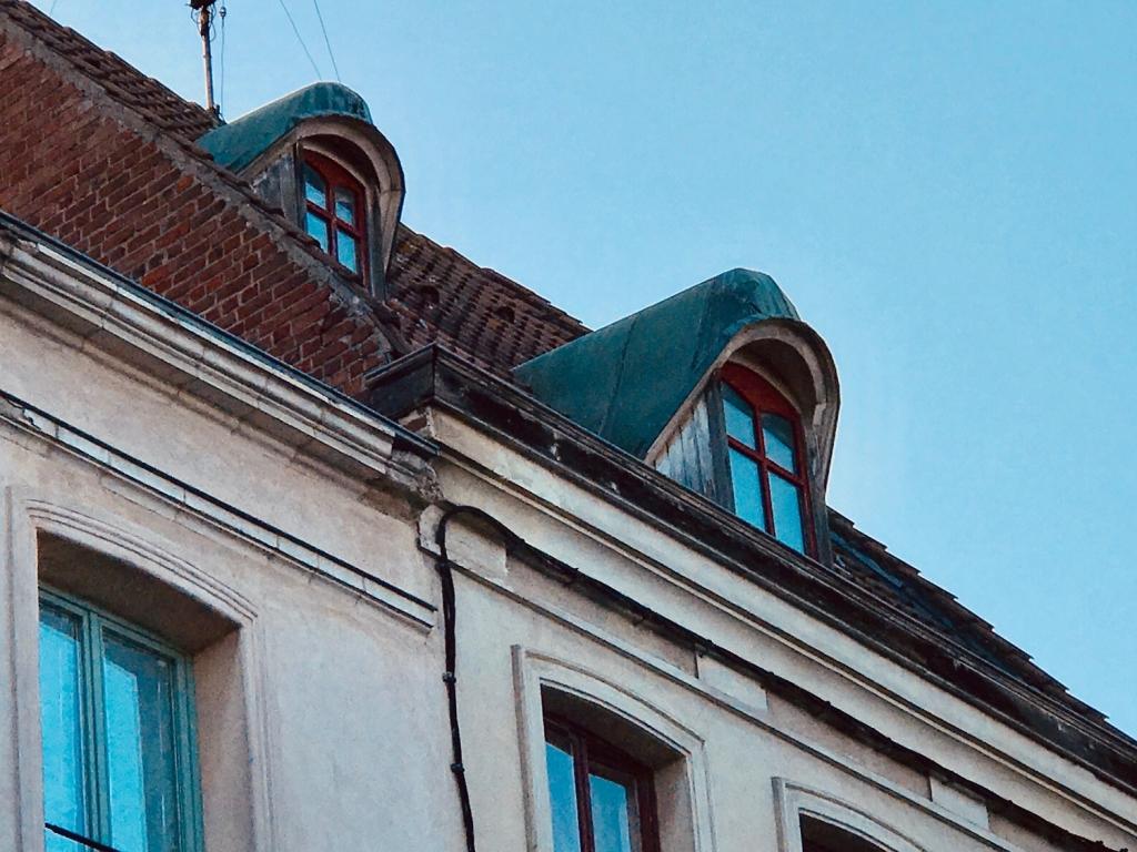 Lucarnes en cuivre -Douai