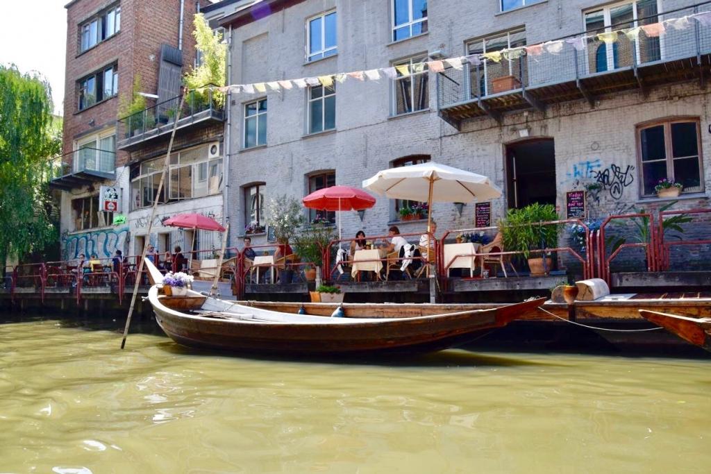 bateaux à Gand