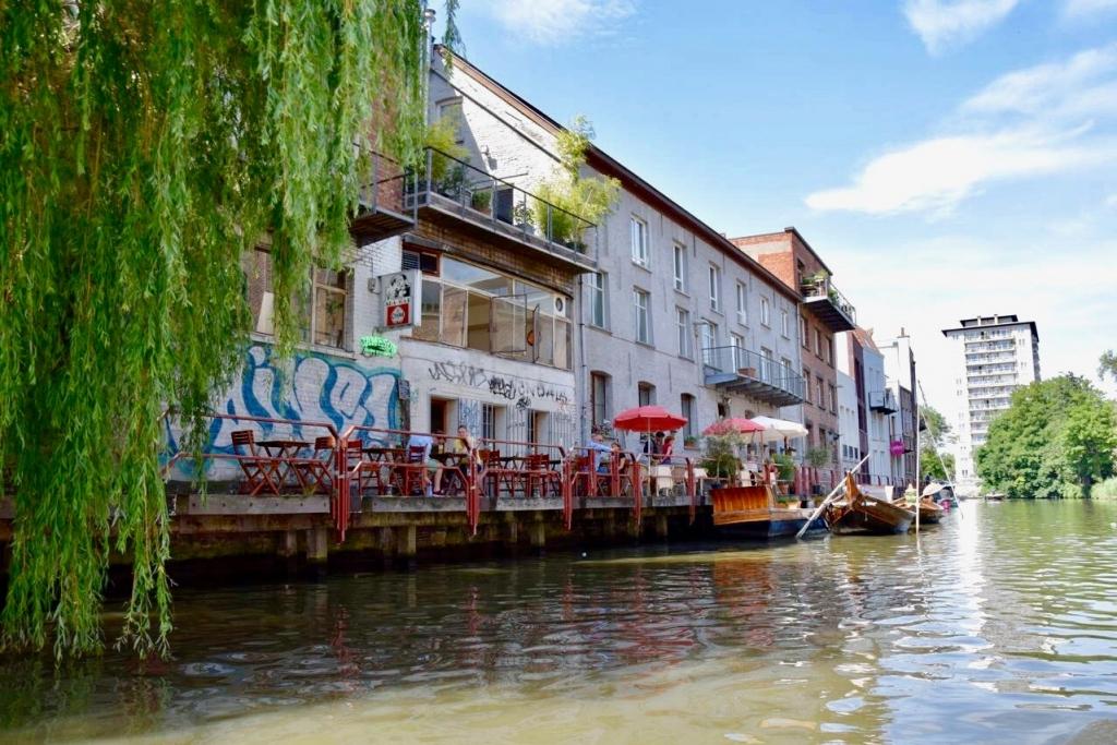 Restaurants au bord de l'eau à Gand