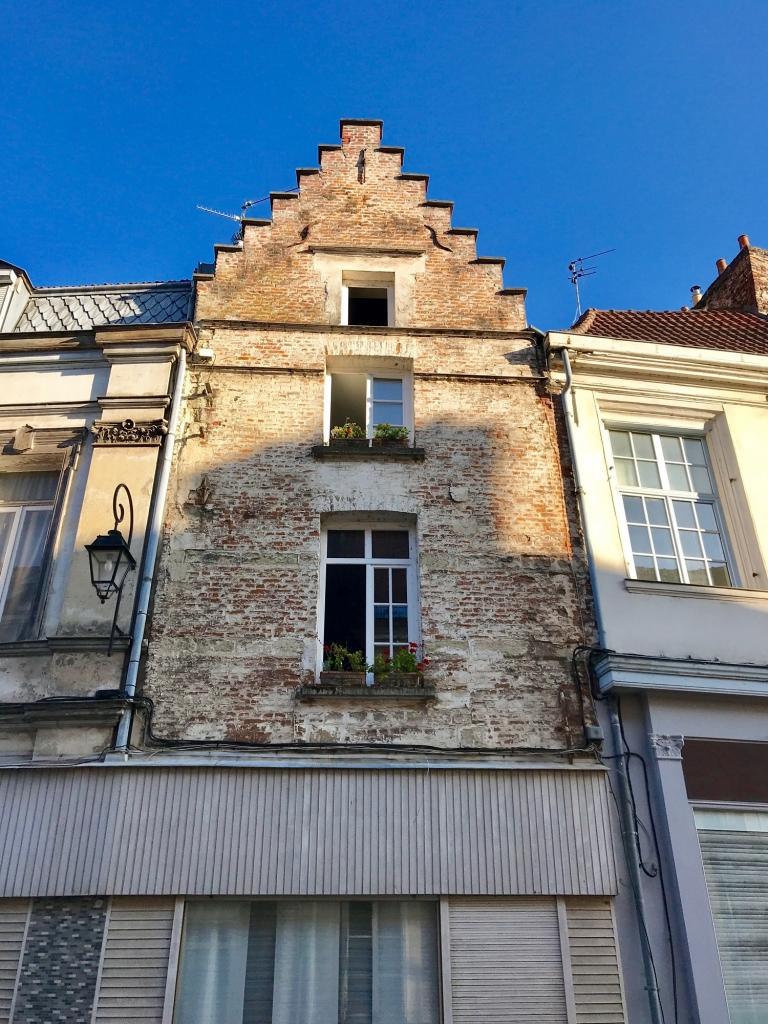 maison flamande dans la ville de Douai - avant le règlement de 1718