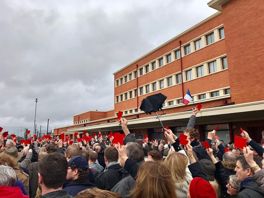 TGV manifestation Douai