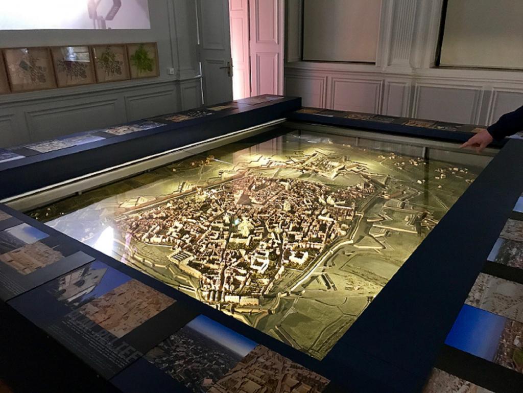 """Plan relief de Cambrai – Au """"Labo"""" ouvert fin juin 2019 à Cambrai"""