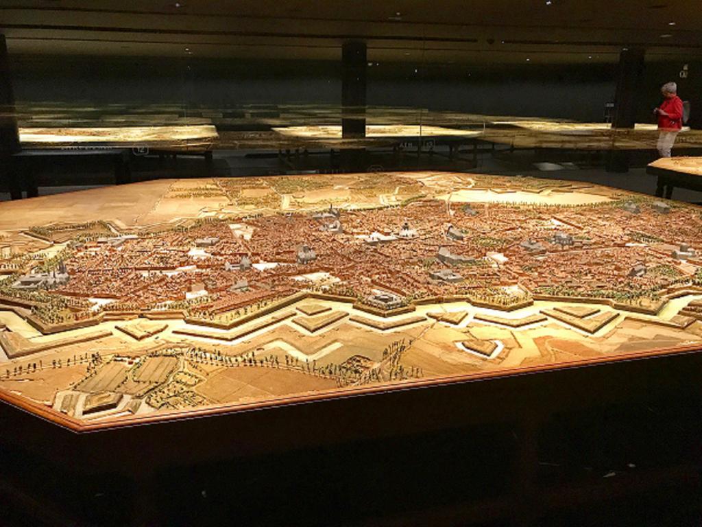 Plan relief de Lille - Musée des Beaux-Arts à Lille