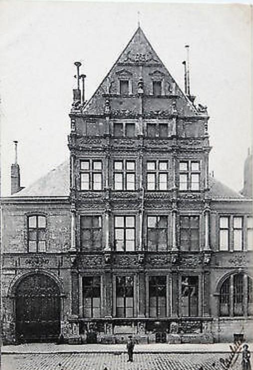 Plus vieille maison de douai - maison des Rémy