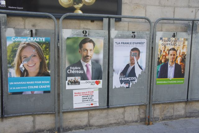 triste campagne municipales à Douai