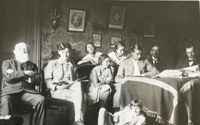 Famille Madon au château du Haut Villaumay